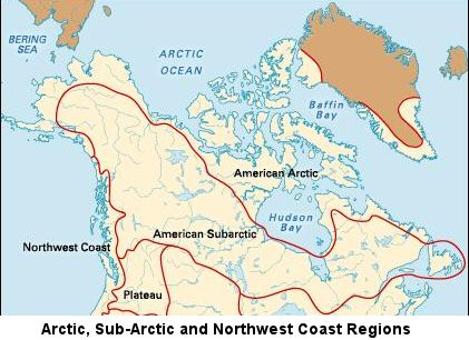 Major Alaskan regions