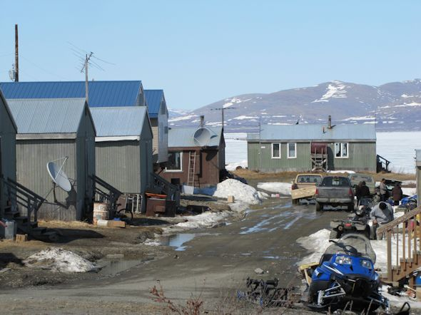 Houses in Akiak