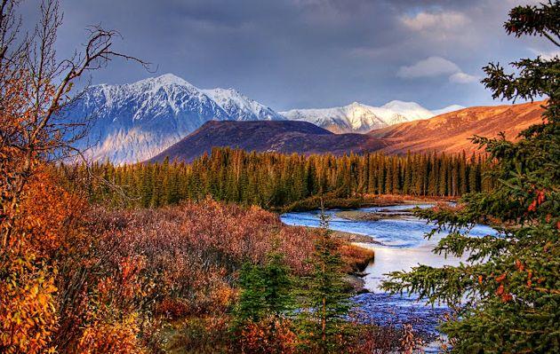 Jack River near Cantwell, Alaska