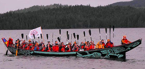 Tsimshian Canoe
