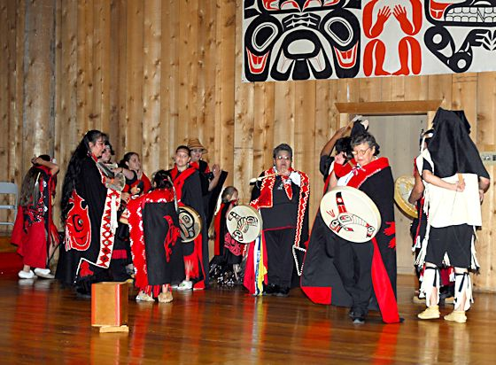 Tsimshian dances from the Metlakla Indian Community