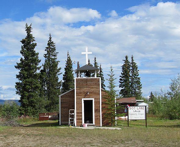 Dot Lake Lakeside community Chapel