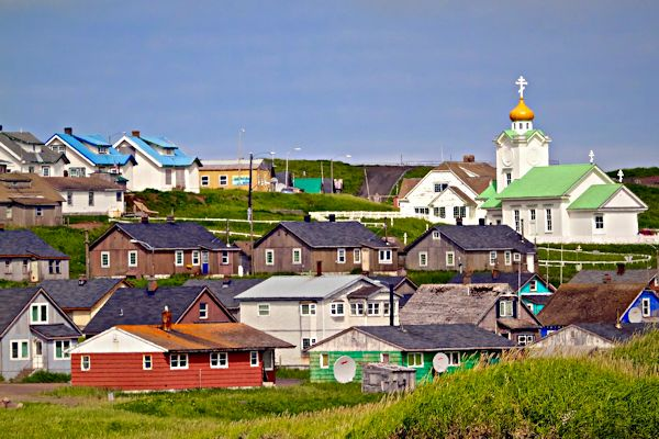 The City of Saint Paul, Saint Paul Island, the Pribilof Islands, Alaska